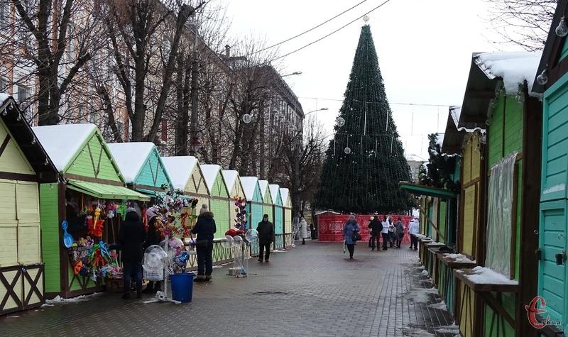 Незабаром Різдвяний ярмарок закриють