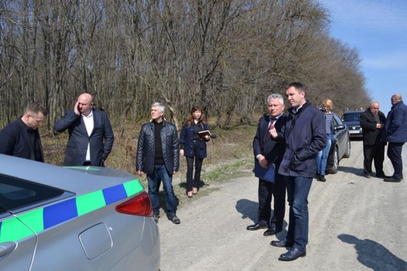 Заступник міністра інфраструктури України оглянув дороги Кам'янця