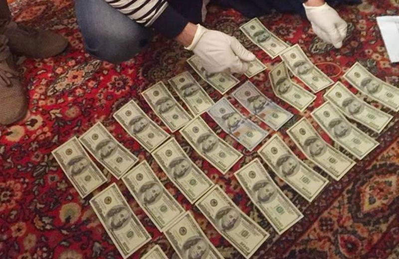 Під час обшуку гроші були вилучені