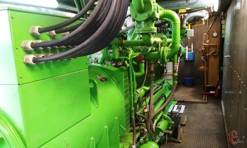 Метан, що заліг під сміттям, установка переробляє на електричну енергію