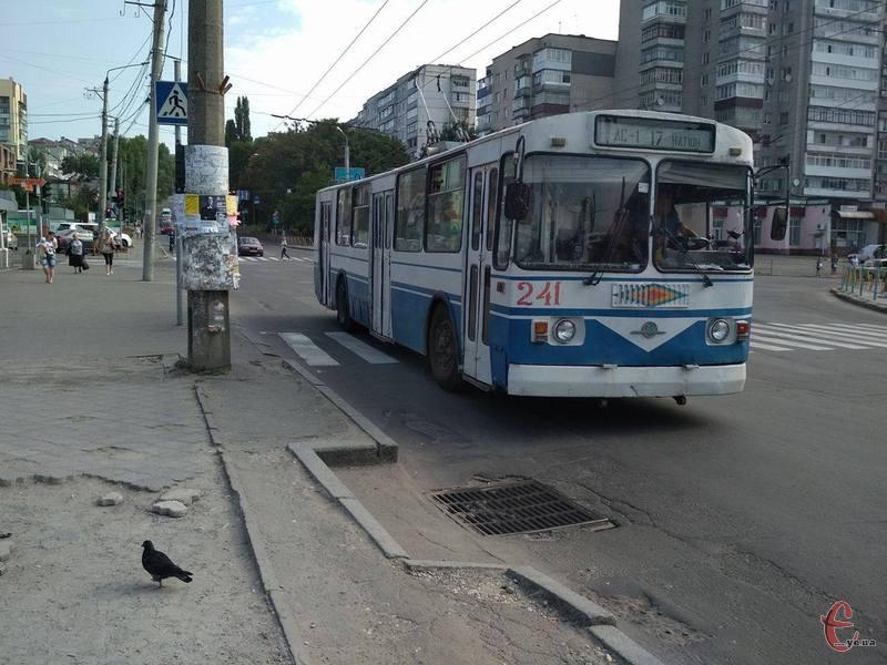 Керівник КП «Хмельницькелектротранст» Віктор Паламарчук дав доручення водіям тролейбусів та кондукторам по можливості одягнути вишиванки.