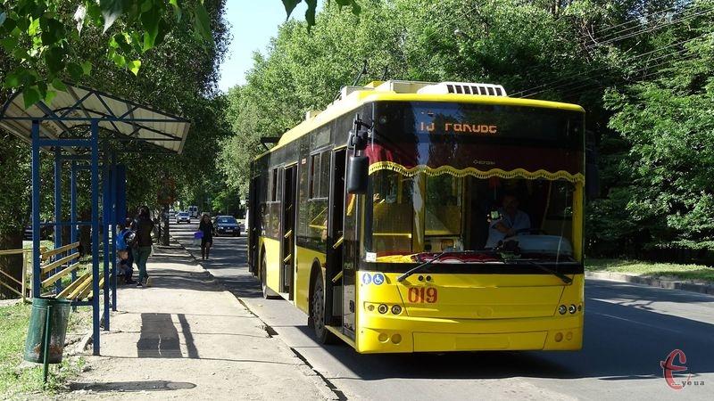 Шукайте ось такі тролейбуси