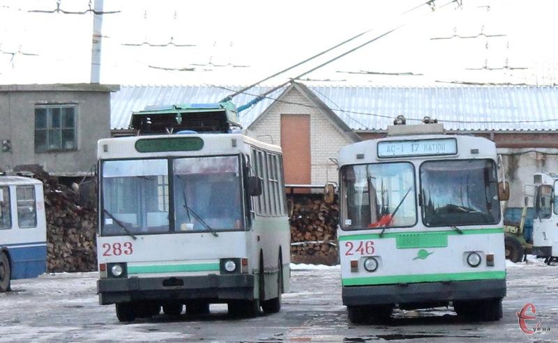 18 березня хмельницькі тролейбуси у Ракове возитимуть пасажирів. Але дещо іншим маршрутом