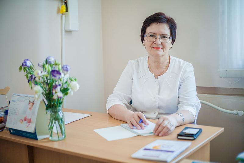 Людмила Мельник стала заслуженою лікаркою України