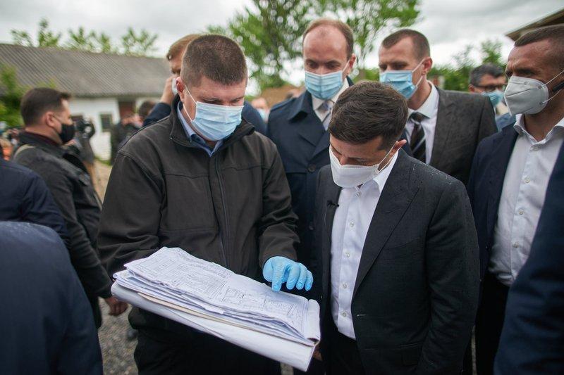 Сьогодні Володимир Зеленський перебуває у Хмельницькому
