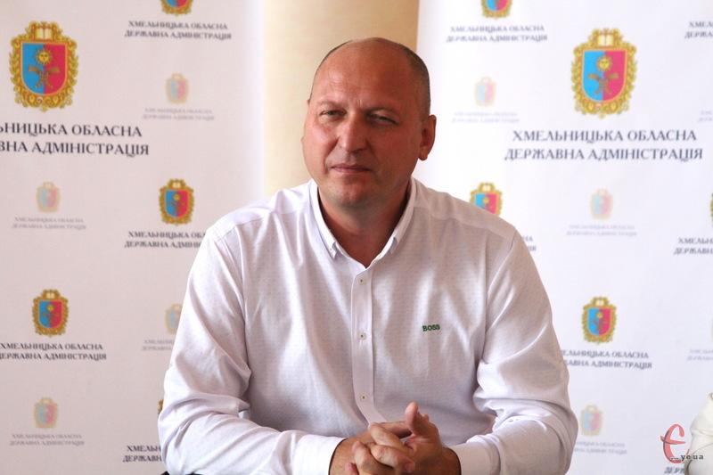 Вадим Лозовий більше не очолюватиме Хмельницьку обласну державну адміністрацію