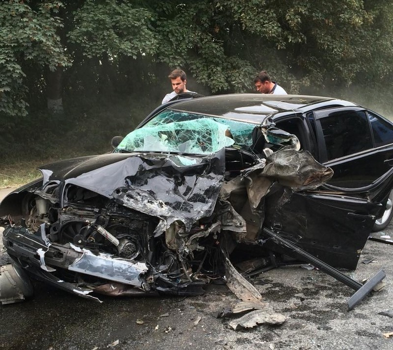 В аварії загинула людина