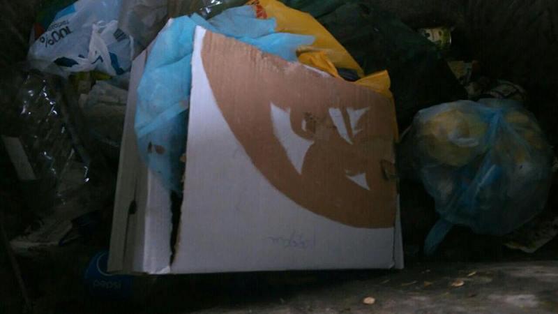 Мертве немовля викинули на смітник
