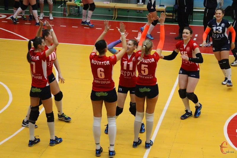 Волейболістки Новатора наступний сезон можуть провести в Суперлізі чемпіонату України