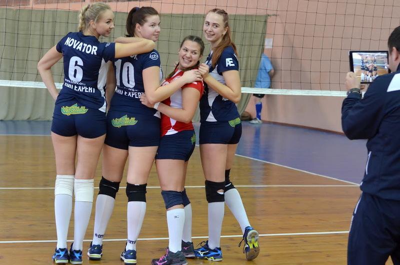 Волейболістки Новатора у чотирьох матчах вищої ліги здобули чотири перемоги