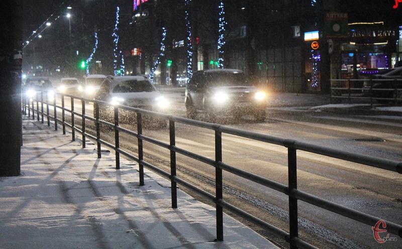 Протягом вихідних очікується періодичний сніг