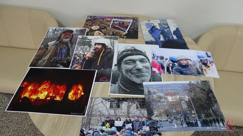 На світлинах революційні події у столиці та Хмельницькому