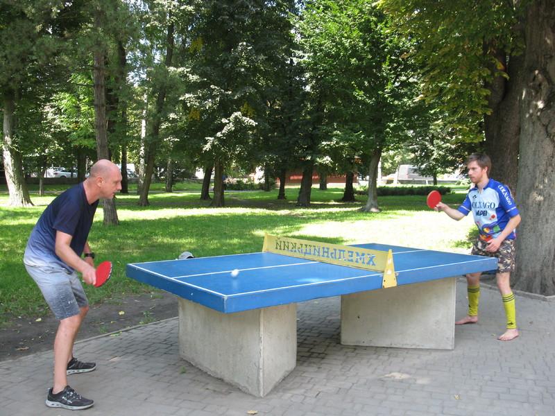 Зокрема, проходили змагання з мініфутболу, шахів, шашок і настільного тенісу