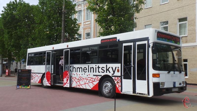 Екскурсійний автобус розпочав роботу
