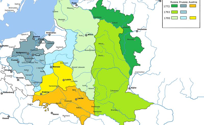 Поділля стало частиною Російської імперії після другого поділу Польщі у 1793 році