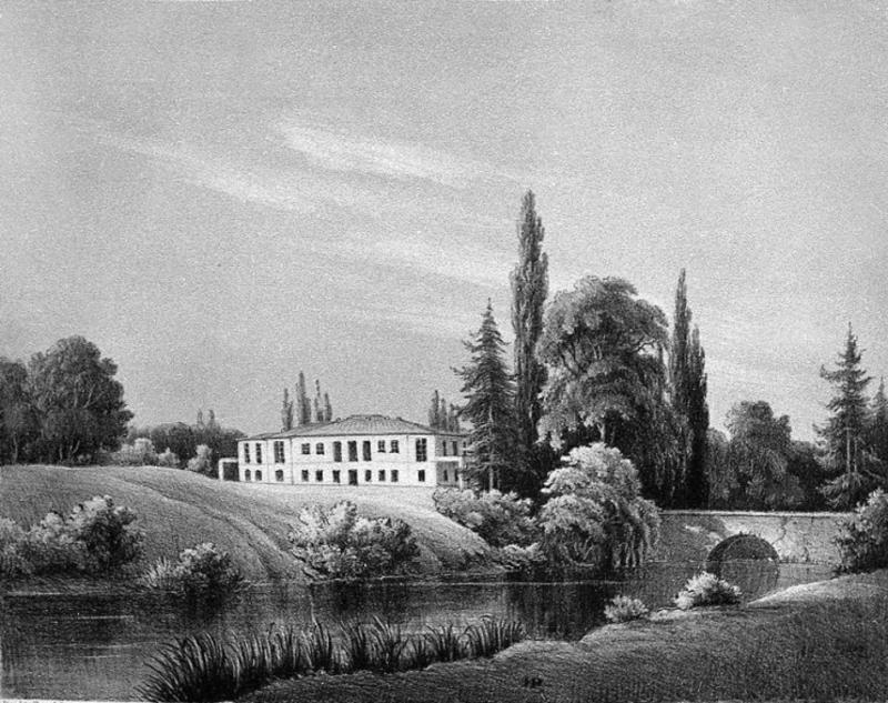 Палац Яблоновських, село Старий Кривин . Друга половина ХІХ століття