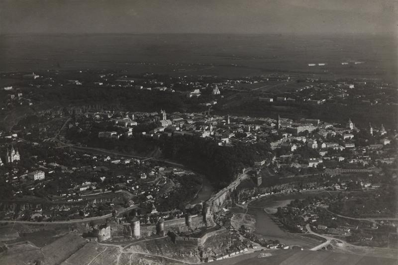 Аерофотографування Кам'янця-Подільського (1914 рік)