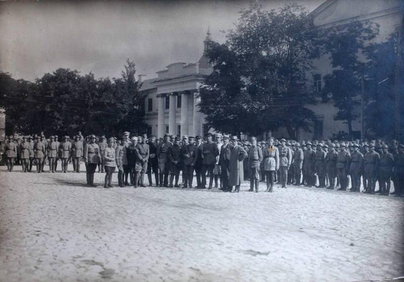 Парад військ УНР 31 липня 1919 року в честь військової місії Антанти