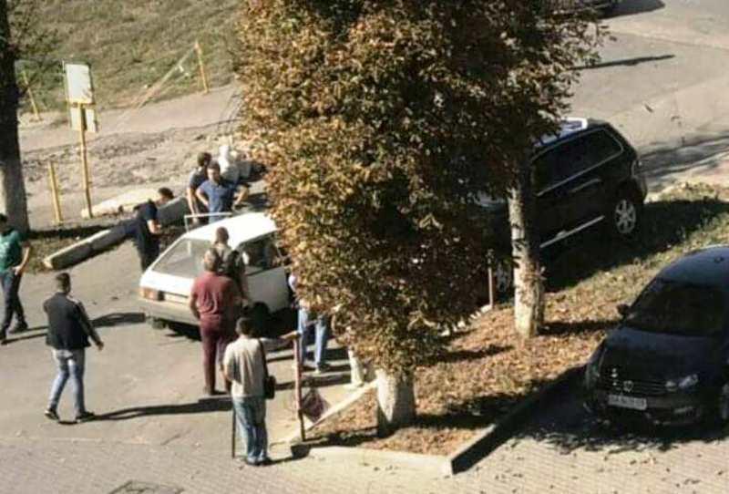 Аварія сталася біля господарського ринку