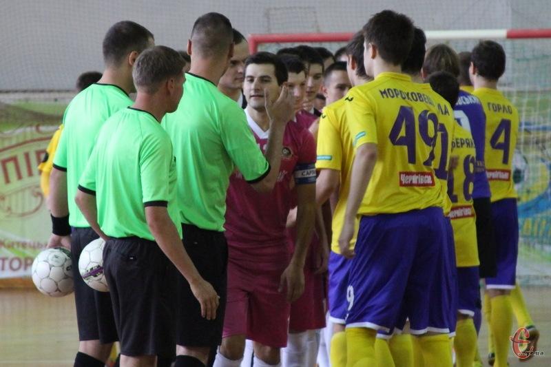 Тиждень тому хмельничани вдома обіграли ЛТК-Інбев-НПУ, а ось у Луцьку на товариському турнірі програли цій команді