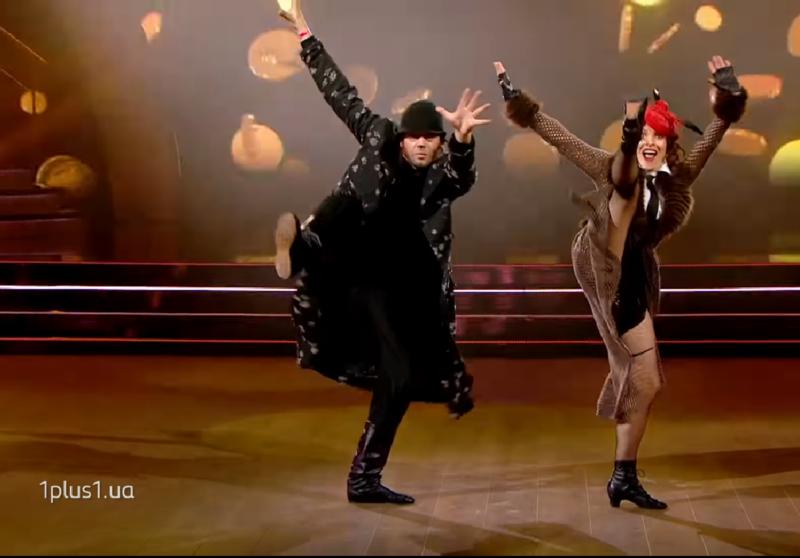 Надія Мейхер вийшла на танцювальний паркет у незвичному образі