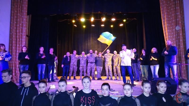 В обласному центрі відбулася прем'єра театралізованого дійства «Монологи війни».