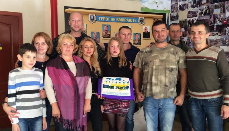 Волонтери відзначили річницю з часу створення фонду