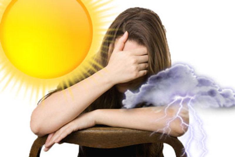 Під час різких перепадів температури, можлива млявість, головні болі та апатія