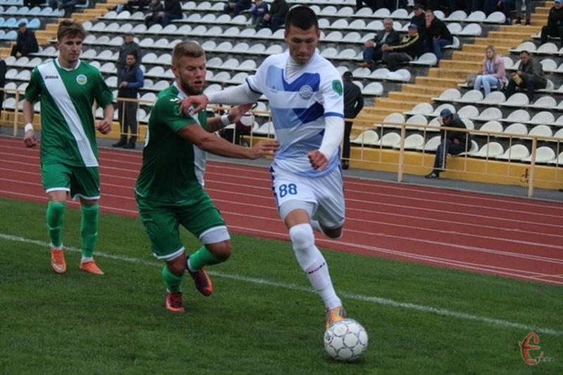 Алішер Якубов забив на 81 хвилині, і цей гол став єдиним для Поділля в матчі проти Черкащини Академії