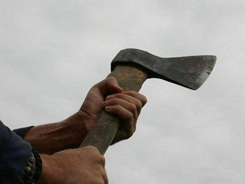 28-річний чоловік наніс удар сокирою в область шиї місцевому жителю
