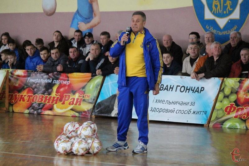 Ігор Хіблін каже, що хмельницькі команди грають у Преміум-лізі, а тому в чемпіонаті області не хочуть виступати