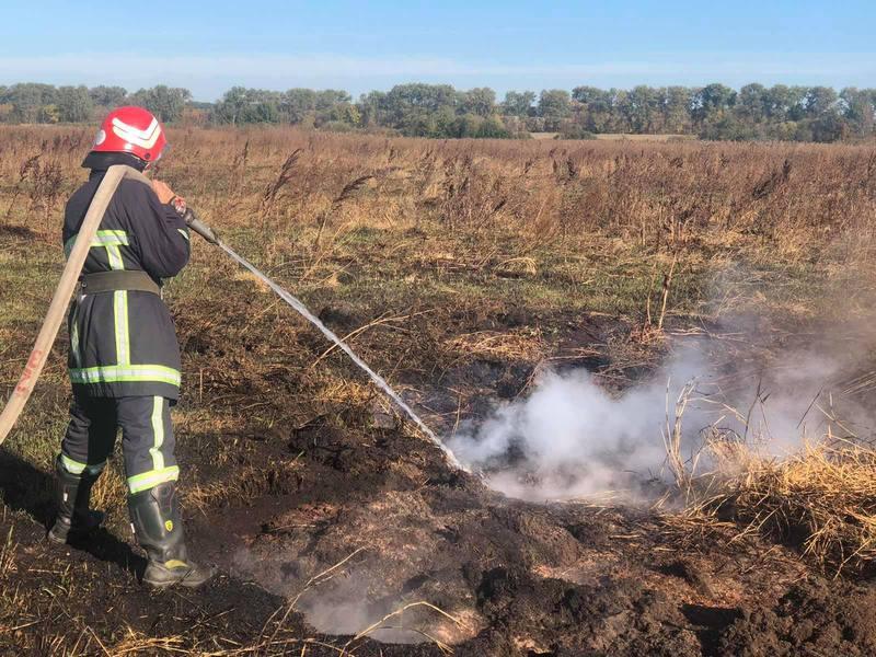 Для запобігання пожежам у природних екосистемах рятувальники патрулюють лісові масиви, місця залягання торфу тощо