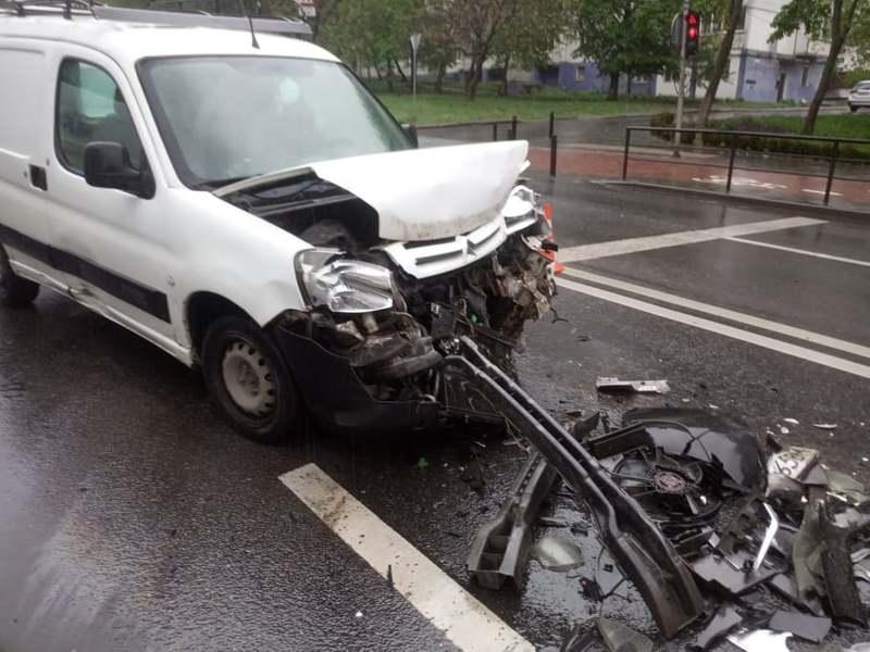 Ранкова аварія на Бандери