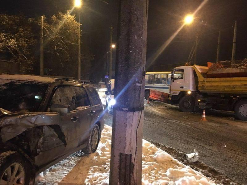 Аварія сталася на перехресті вулиць Трудова - Шеченка