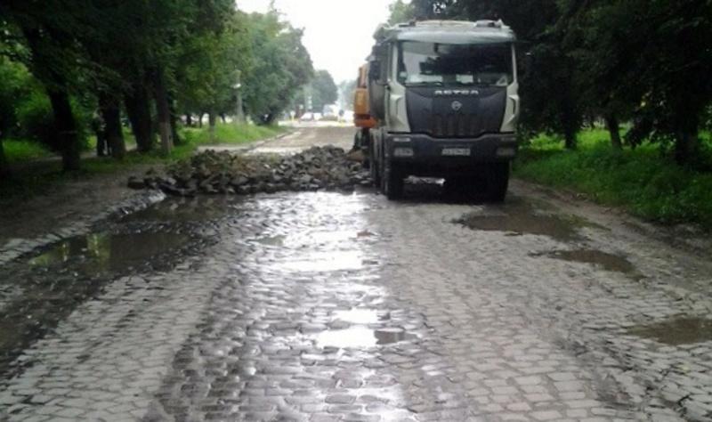На ділянці вул. Північна, що у Кам'янеці-Подільському розпочато капітальний ремонт