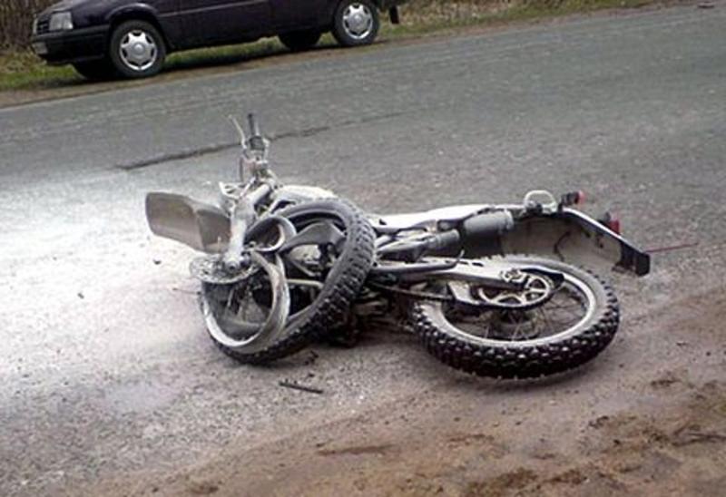 Мотоцикліст потрапив у лікарню