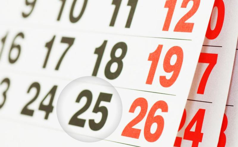 В Україні 25 грудня стане вихідним