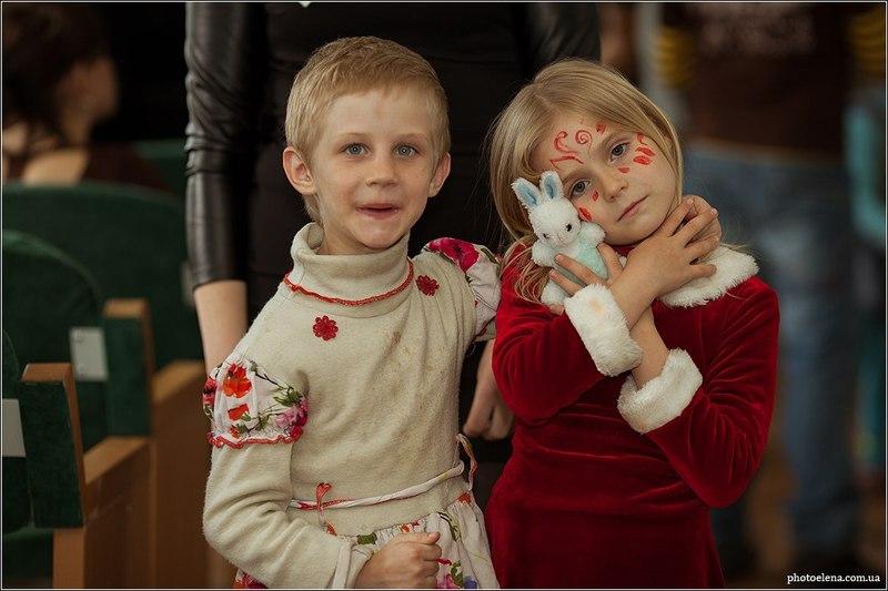 """Акція """"Сонце для всіх"""" принесла багато приємних вражень - і організаторам, і діткам."""