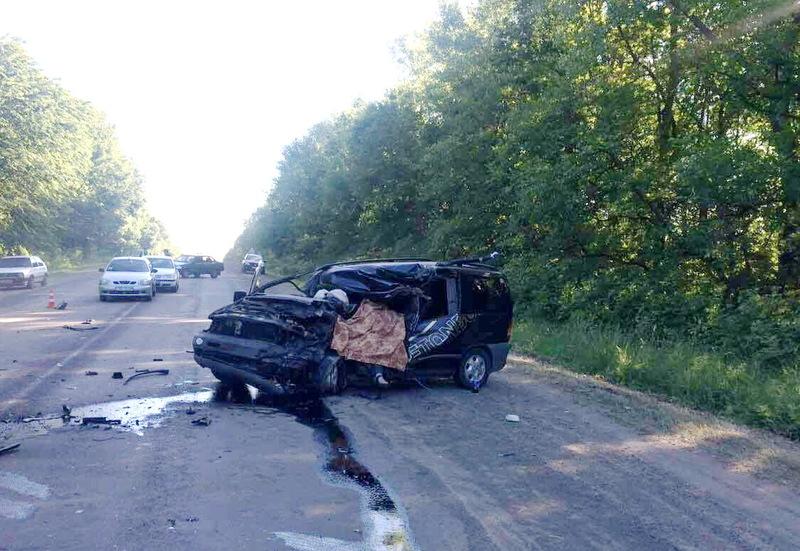 Аварія в Ярмолинецькому районі забрала життя водія мікроавтобусу