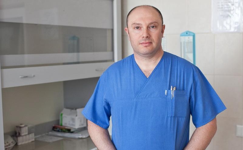Ігор Дробнер, завідувач хірургічного відділення №1 Хмельницького обласного онкологічного диспансеру