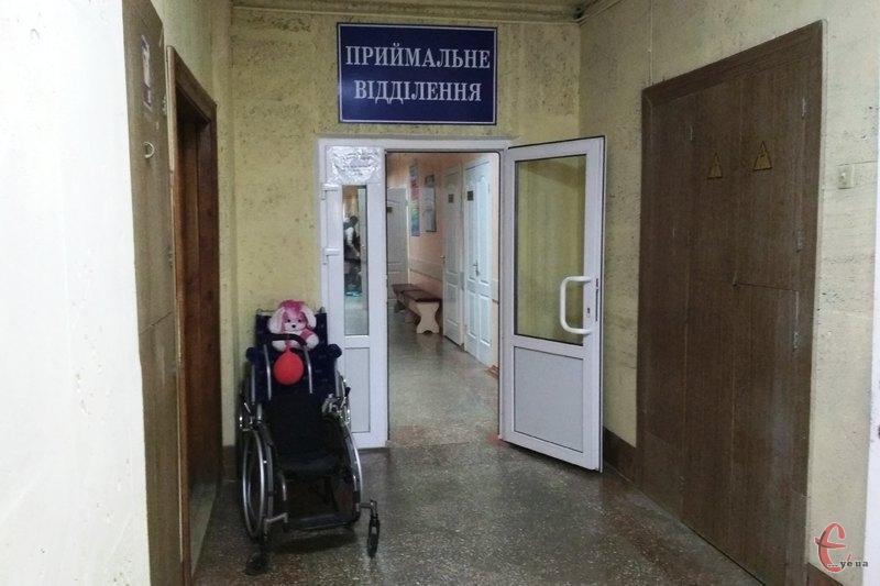Медзаклад, який розрахований на 150 ліжкомісць, уже прийняв 168 пацієнтів