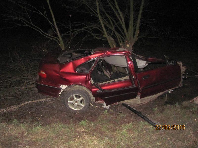 В аварії загинуло двоє людей