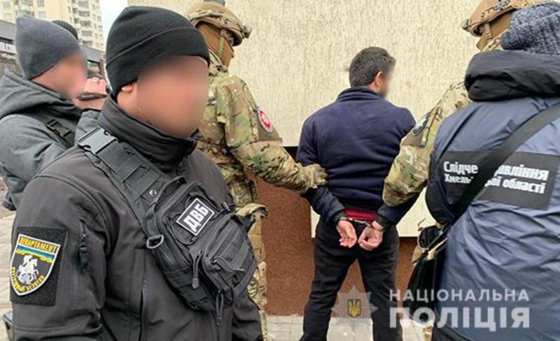 Громадянина Вірменії затримали в порядку статті 208 Кримінального процесуального кодексу України