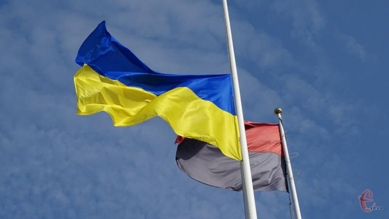 27 квітня 1990 року в Нетішині замайорів перший на Хмельниччині синьо-жовтий стяг