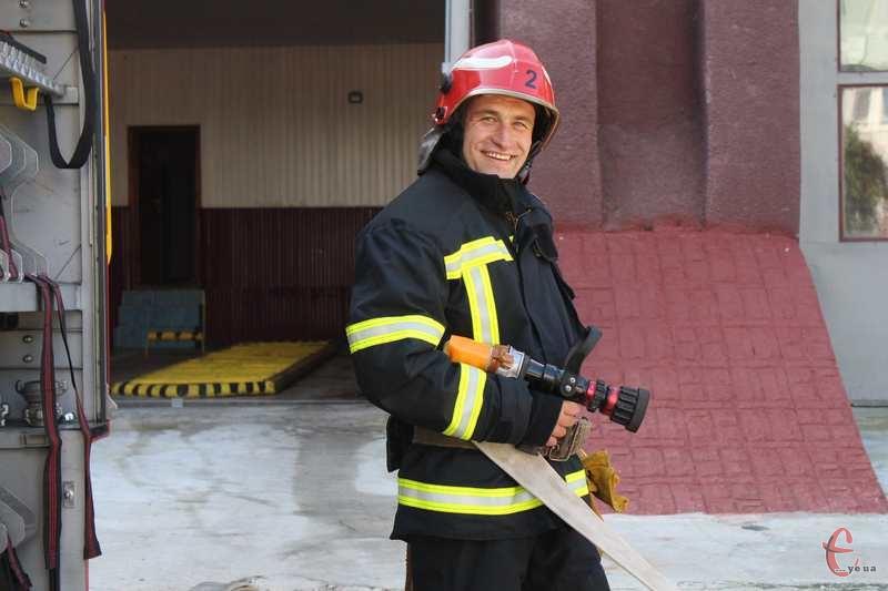 Професія рятувальника – це робота і покликання, каже Ігор Паєнк
