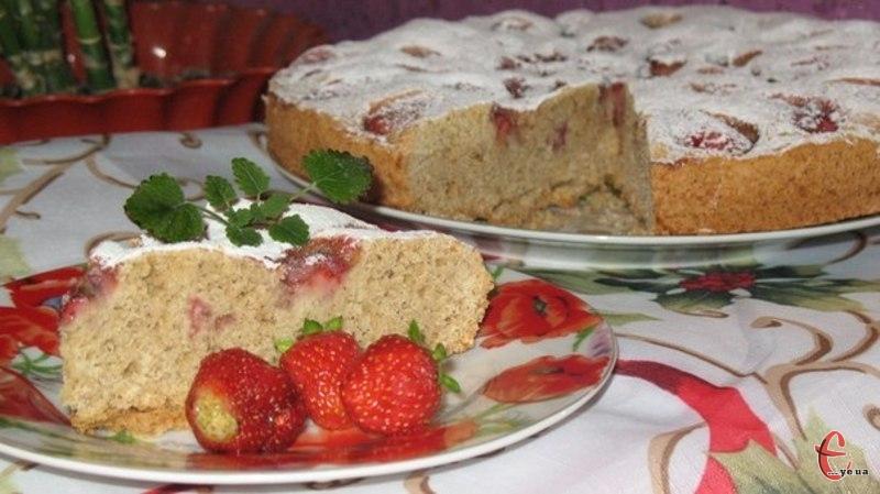 Цей пиріг із розряду «без заморочок», готується дуже швидко й просто.