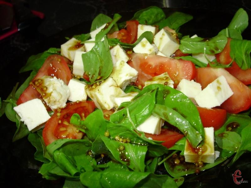 Insalata di rucola – так в Італії називається надзвичайно смачний салат із руколою