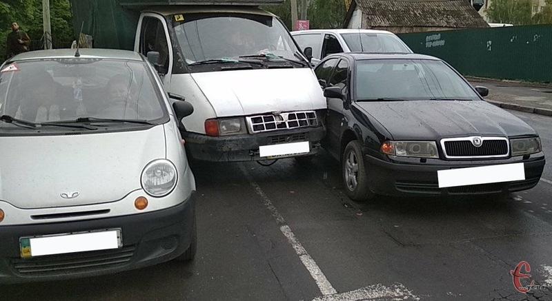 Аварія в Хмельницькому біля педакадемії