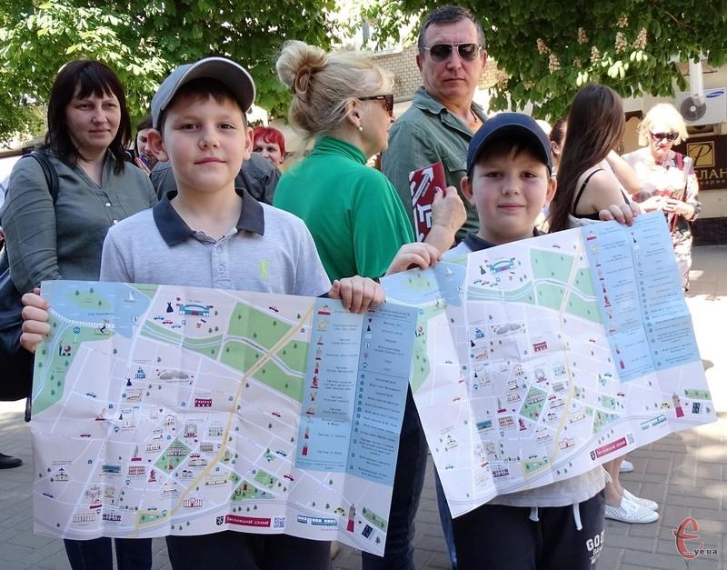 Відтепер у Хмельницькому є мапа цікавих місць