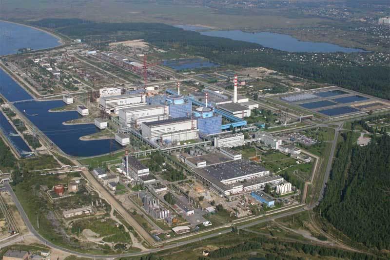 Хмельницька атомна електростанція розташована в Нетішині